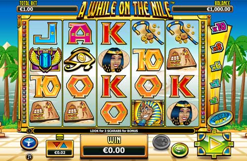 A While on the Nile free slot