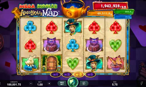Absolootly Mad Mega Moolah free slot