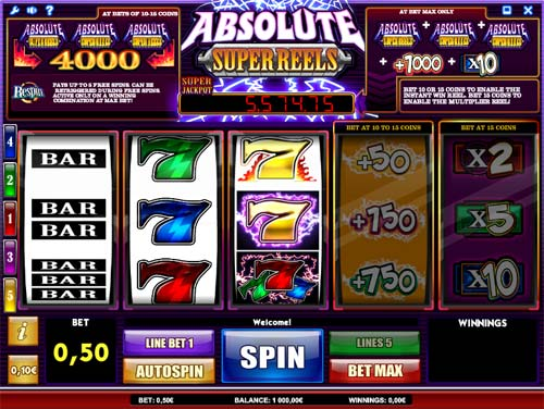 Absolute Super Reels free slot