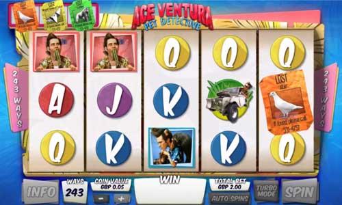 Ace Ventura free slot