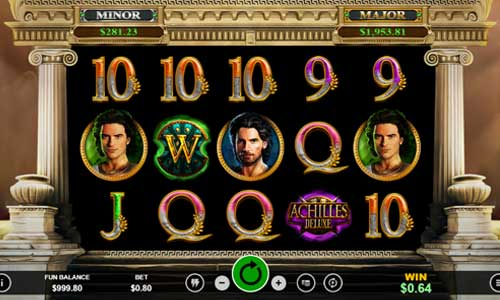 Achilles Deluxe free slot