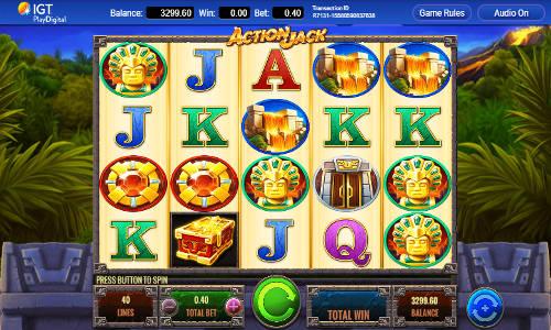 Action Jack casino slot