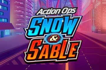 Action Ops Snow and  Sable free slot