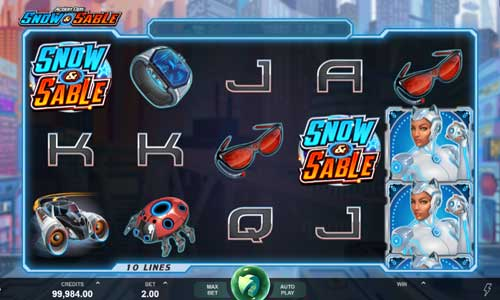 Action Ops Snow and  Sable casino slot