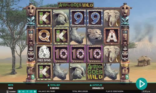 Africa Goes Wild free slot