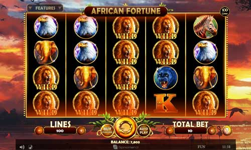 African Fortunebuy feature slot