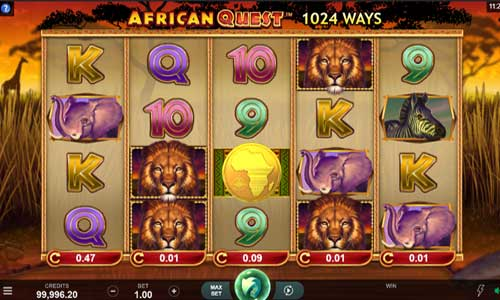 African Quest free slot