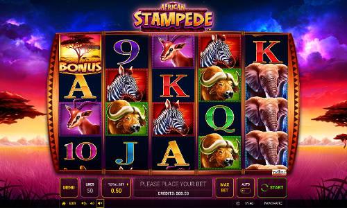 African Stampede free slot
