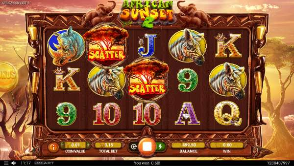 African Sunset 2 free slot