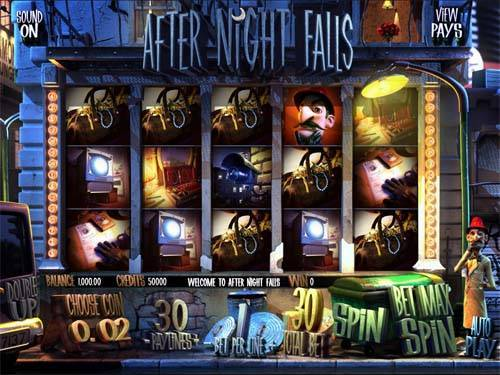 After Night Falls free us slot