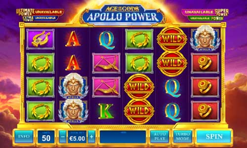 Age of the Gods Apollo Powerjackpot slot