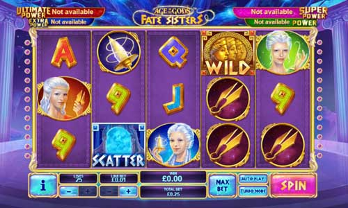 Age of the Gods Fate Sisters free slot