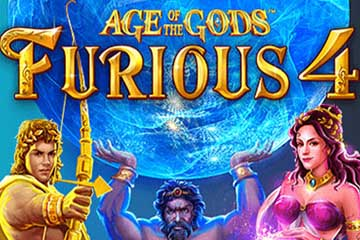 Age of the Gods Furious 4 slot Playtech