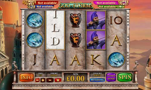 Age of the Gods God of Storms free slot