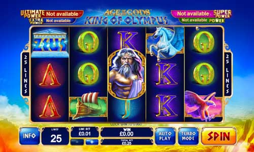 Age of the Gods King of Olympus free slot