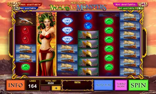 Age of the Gods Medusa and Monsters free slot