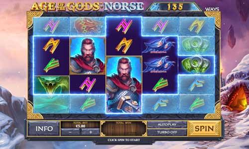 Age of the Gods Norse Ways of Thunder free slot