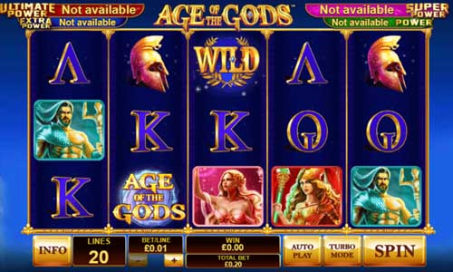 Age of the Gods free slot