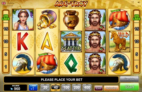 Age of Troy free slot