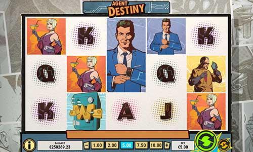 Agent Destiny free slot