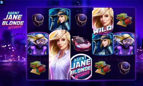 Agent Jane Blonde Returns free slot