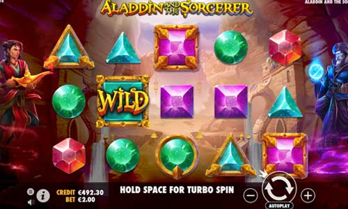 Aladdin and the Sorcerer free slot