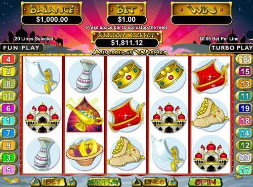Aladdins Wishes casino slot