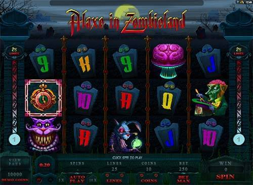 Alaxe In Zombieland free slot