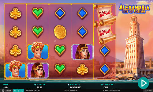 Alexandria City of Fortune free slot