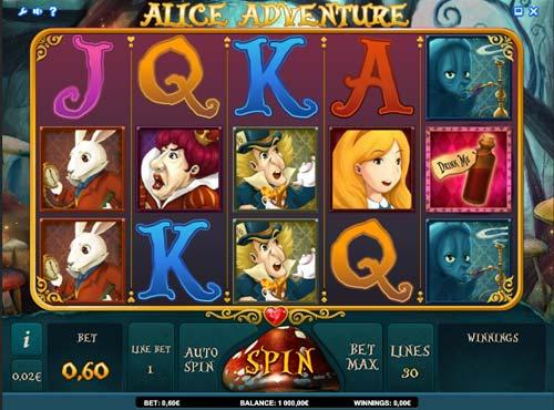Alice Adventure free slot