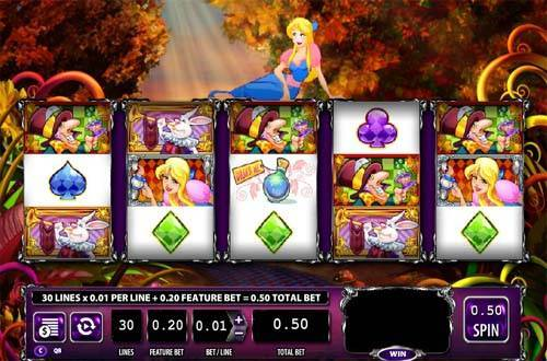 Alice and the Mad Tea Party free slot