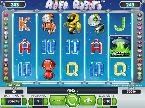 Alien Robots free slot