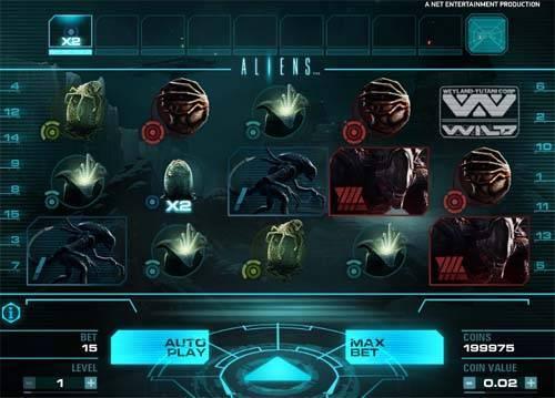 Aliens free slot