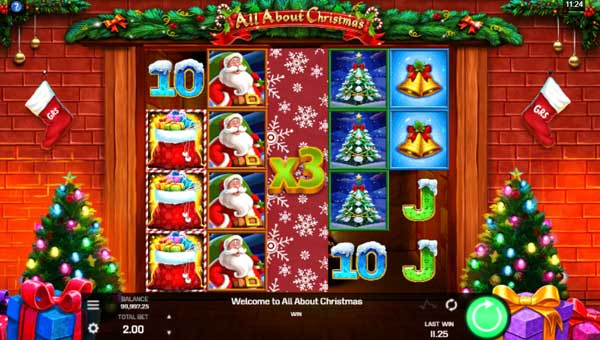 All About Christmas free slot