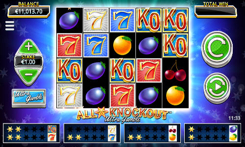 All Star Knockout Ultra Gamble free slot