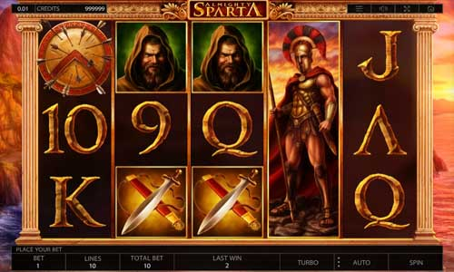 Almighty Sparta free slot
