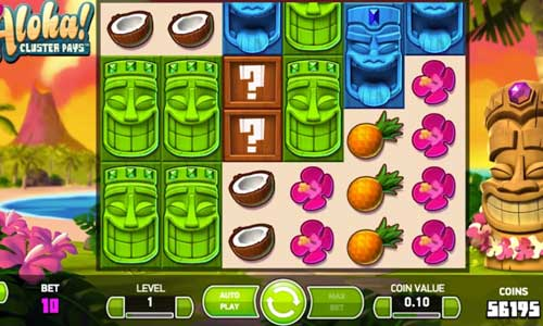 Aloha Cluster Pays free slot