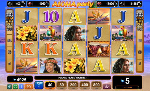 Aloha Party free slot