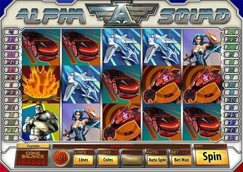 Alpha Squad free slot