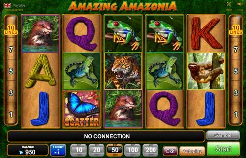 Amazing Amazonia free slot