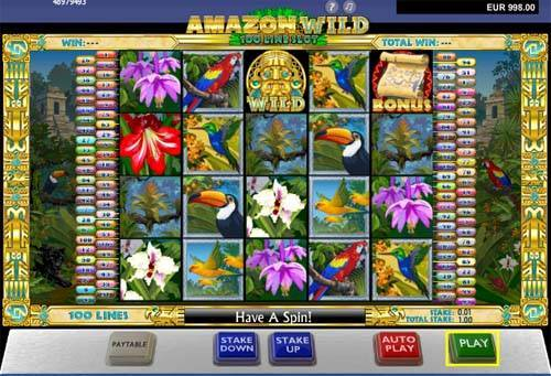 Amazon Wild casino slot