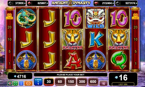 Ancient Dynastyjackpot slot
