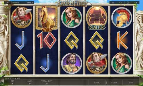 Ancient Troy casino slot