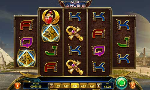 Ankh of Anubis casino slot