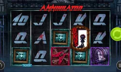 Annihilator free slot