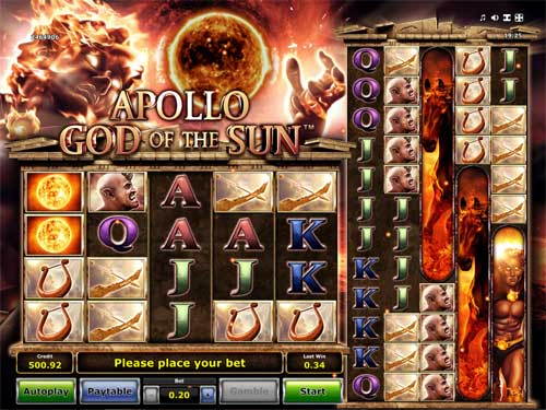 Apollo God of the Sun slot