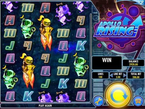 Apollo Rising free slot