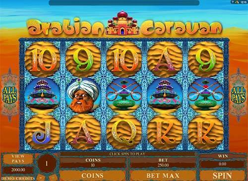 Arabian Caravan casino slot