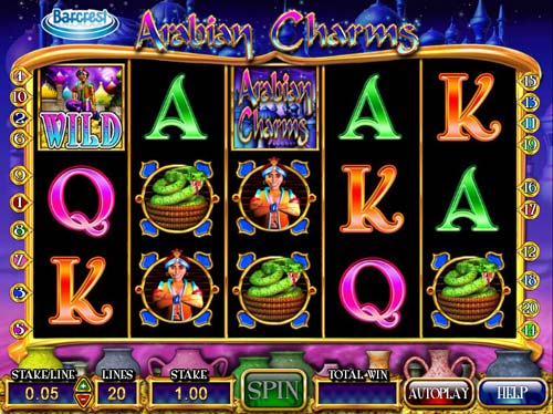 Arabian Charms free slot