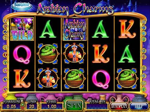Arabian Charms free slot
